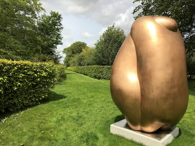 Tony Cragg at Houghton Hall - A close view of Integers (2020)
