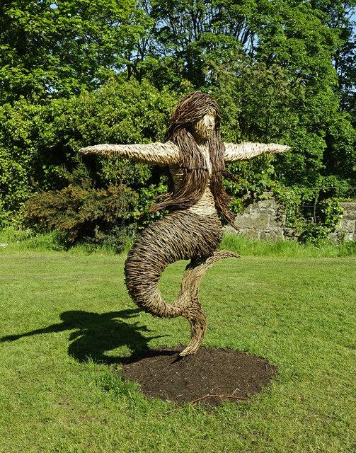 A mermaid at Culzean