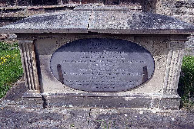 Dickinson Grave - Twycross Churchyard