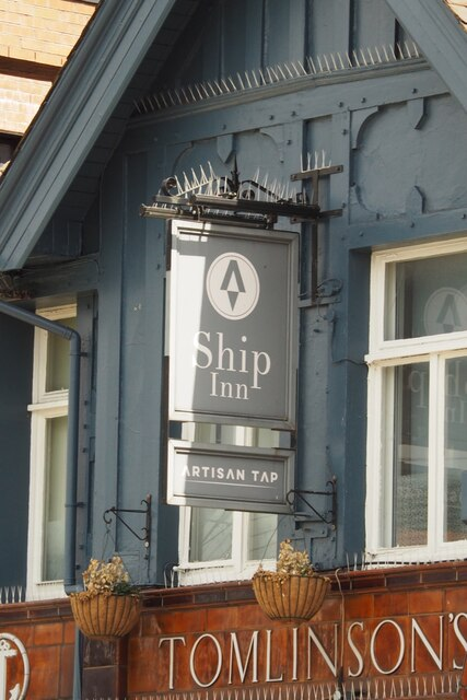 The sign of the Ship Inn