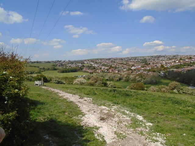 View towards Woodingdean