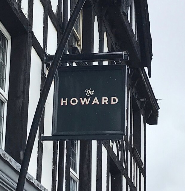 The sign of The Howard