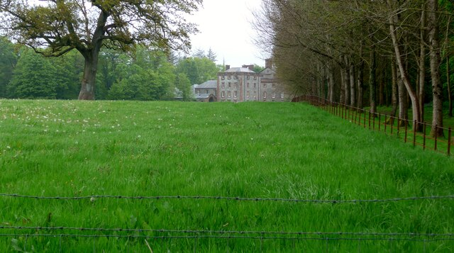 Galloway House from the car park