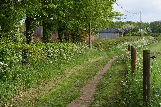 Path past Matrons College Farm