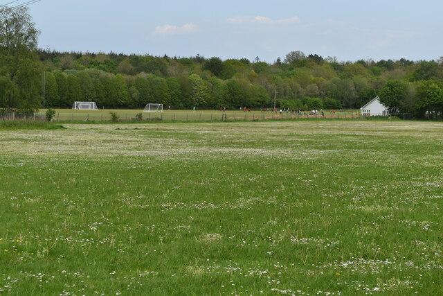 Recreation ground at Alderbury