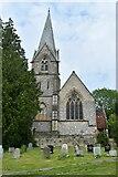 SU1826 : St Mary's Church, Alderbury by David Martin