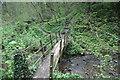 NZ4245 : Footbridge over Hawthorn Burn by Andy Waddington