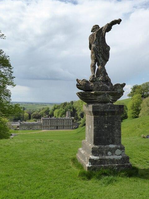 Neptune Statue, Dyrham Park