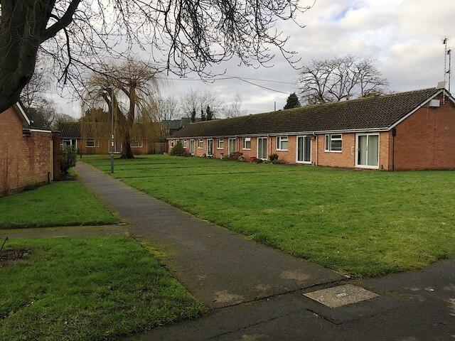 Single-storey dwellings, Percy Estate, Millbank, Warwick