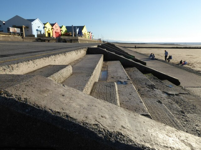 The seafront at Prestatyn