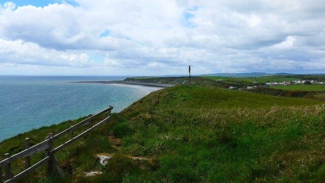 The coast at Monreith Bay