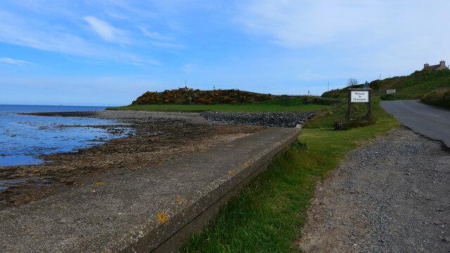 The coast at Curghie Bay
