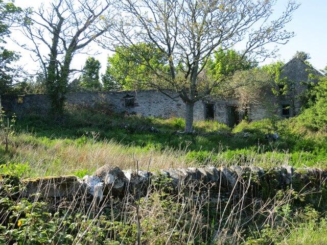 Ruined farmhouse of Midpark