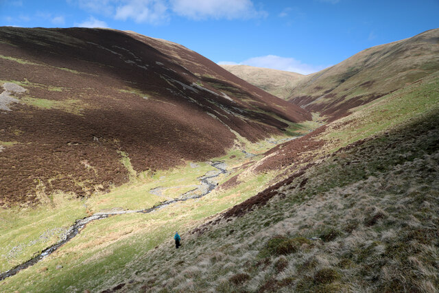 Descending to Long Rigg Beck
