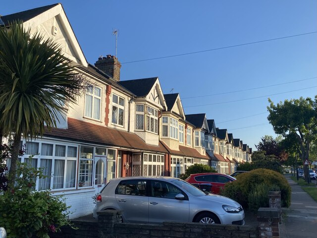 North London suburban housing
