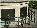 SK5843 : Mapperley War Memorial – detail by Alan Murray-Rust