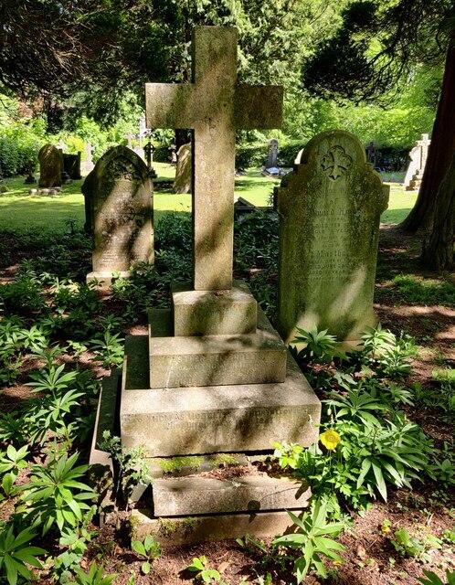 Gravestones at Holy Trinity Church, Lickey