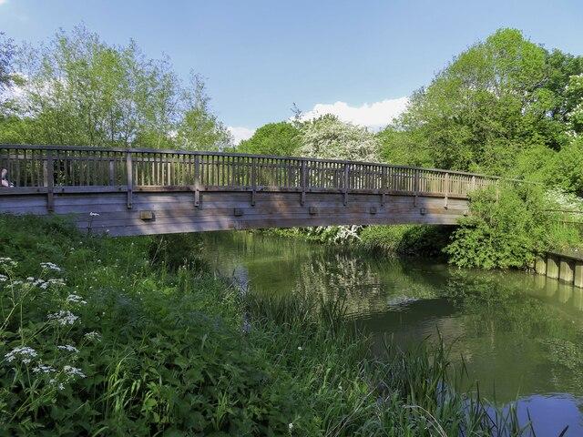 Footbridge over the River Cherwell
