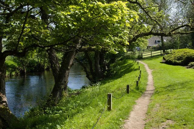Footpath near Niddside
