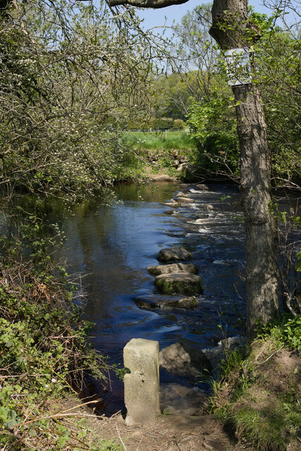 Stepping Stones across the Nidd