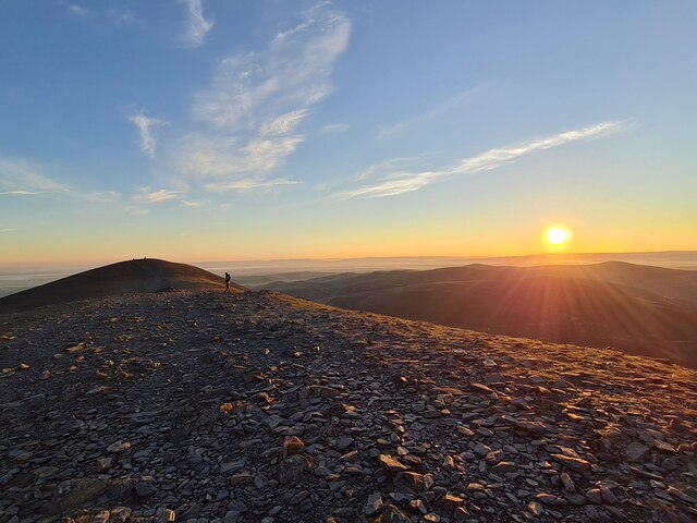 Sunrise on Skiddaw