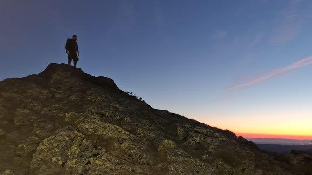 Ullock Pike at sunrise