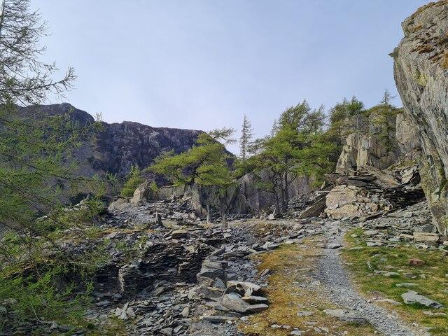 Top of Castle Crags