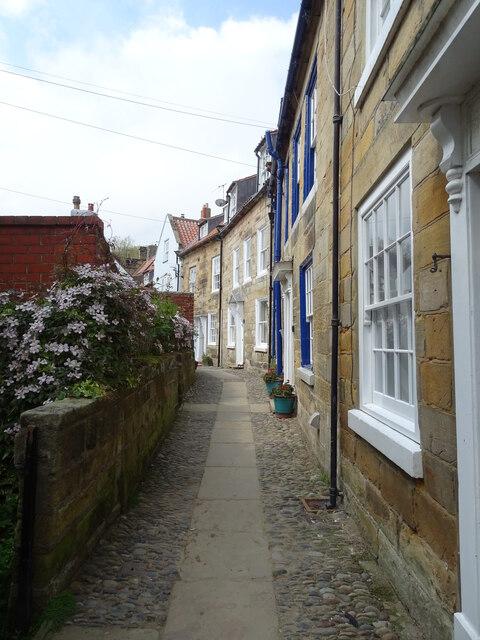 Streets of Robin Hood's Bay