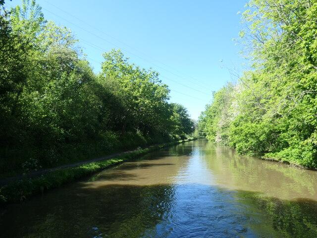The Bridgewater Canal, north of Preston Brook tunnel