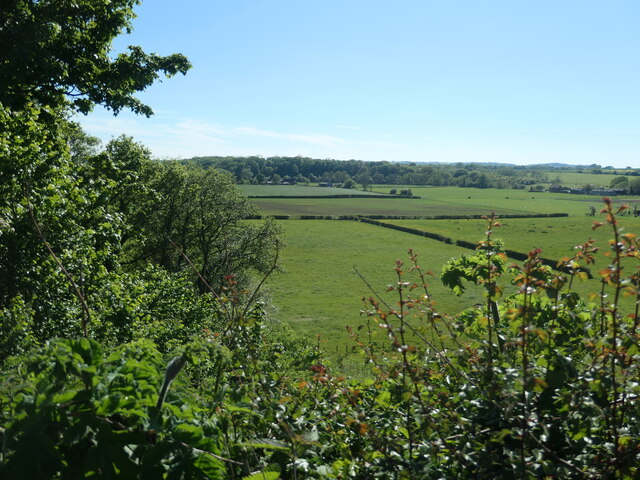 The valley of the River Weaver, near Dutton