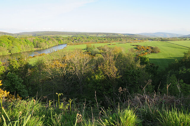 Fields by the River Spey