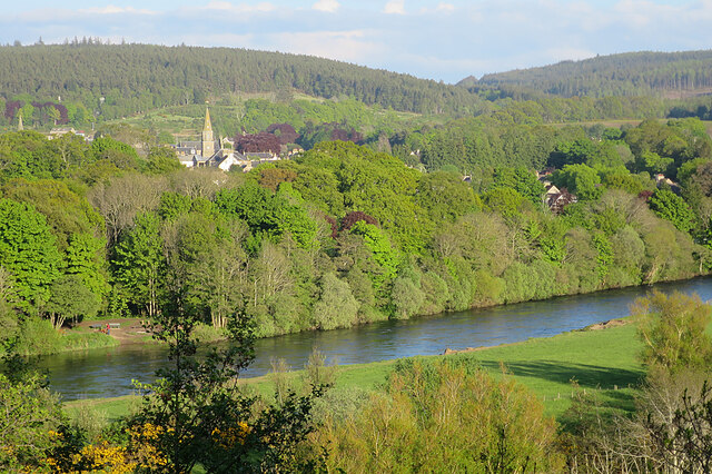 Fochabers and River Spey