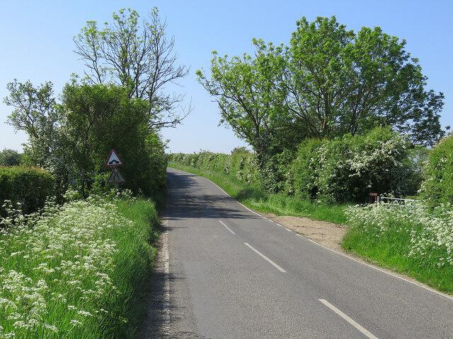Hump bridge ahead