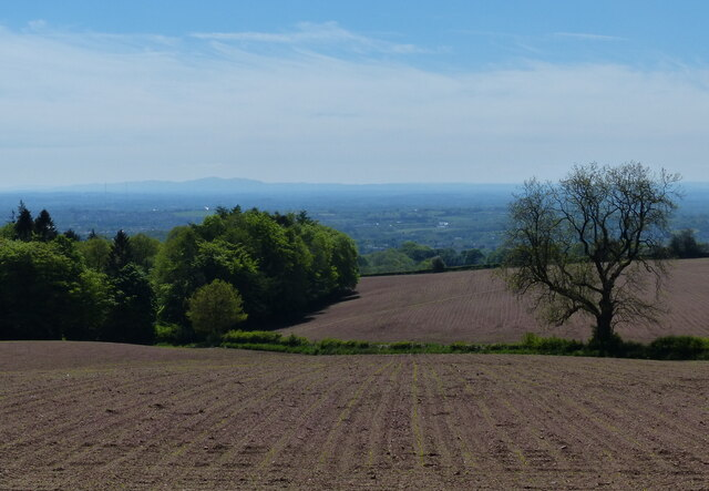 Countryside south of Beacon Hill