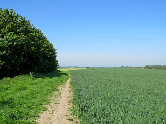 Comberton: footpath to Toft