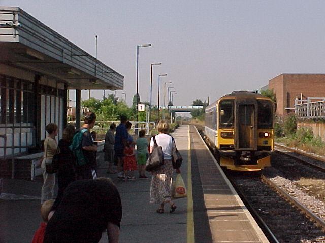 Platform 1 at Burton-on-Trent