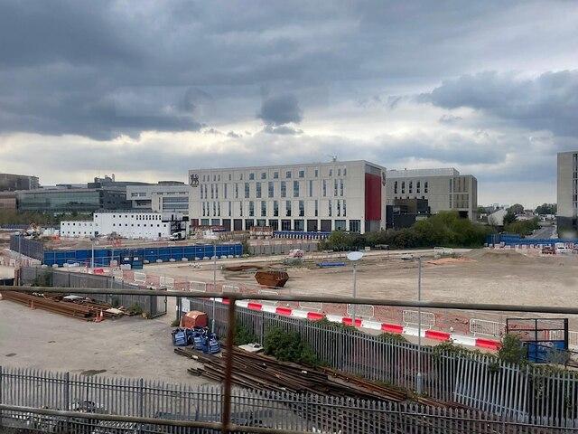 HS2 Curzon Street station site, April 2021 (2/4)