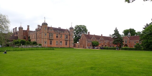 Charlecote Estate - The house and outbuildings
