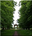 SP2556 : Charlecote Estate - The West Gate by Rob Farrow