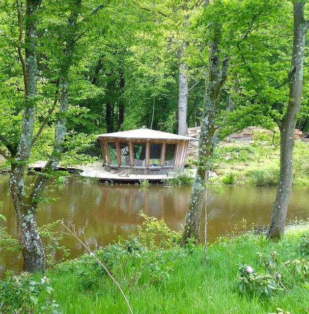 Summerhouse, Coomb Wood