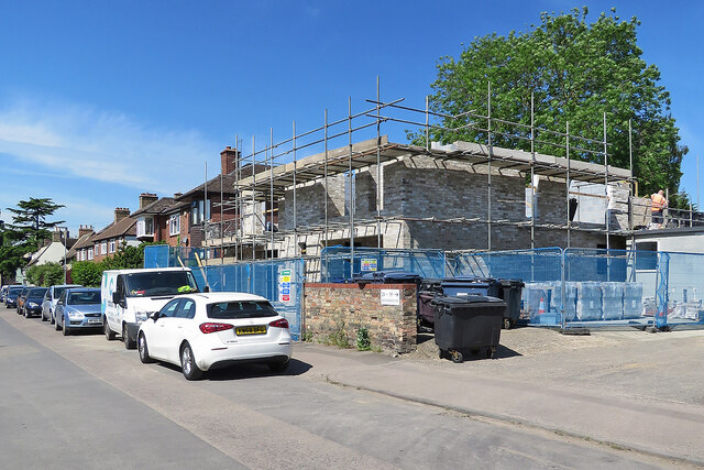 Chesterton: new walls on Water Street