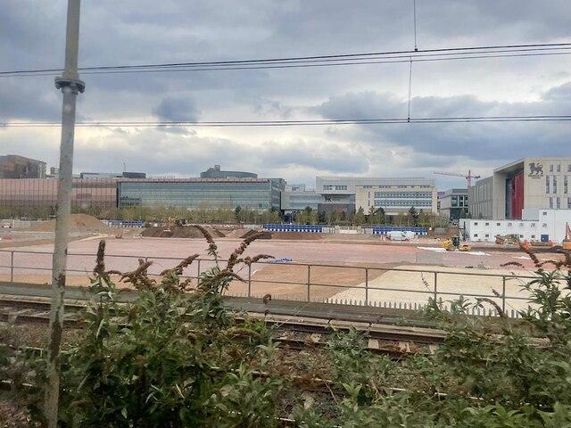 HS2 Curzon Street station site, April 2021 (4/4)