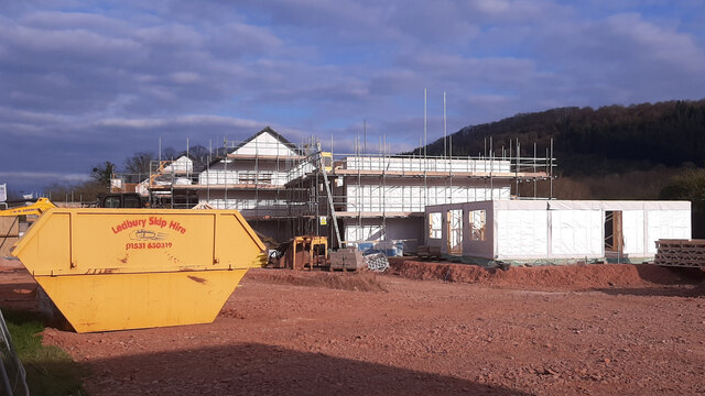 New builds at Hildersley, 2