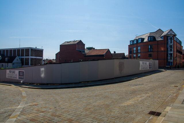 Imminent development on Grantham Street, Lincoln