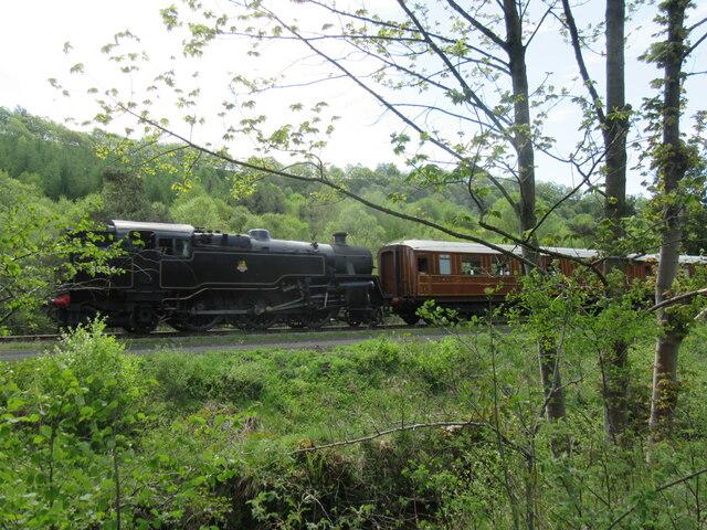 Steam train in Newtondale