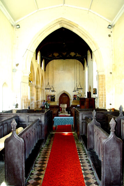View west in St Mary's Church