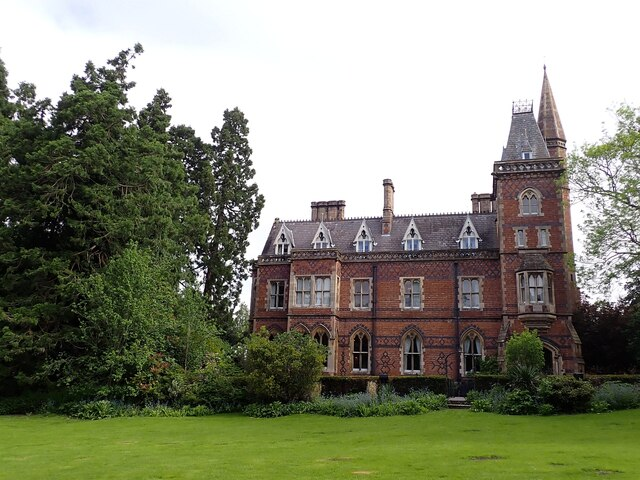 Brownsover Hall Hotel - from its southern gardens