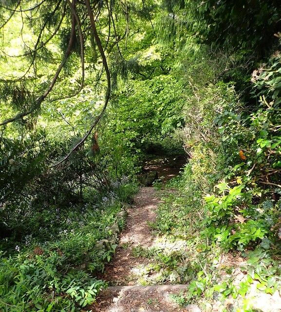 Brownsover Hall Hotel - Path into garden