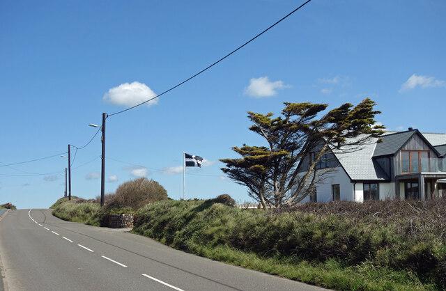 Cornish Flag at Upton