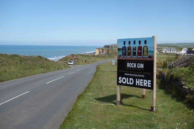 Rock Gin Sold Here